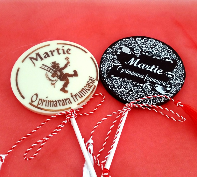 Lollypop martisor ChocoGift